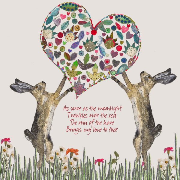 16007 Hares and Heart