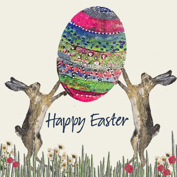 16032 Hares and Big Egg