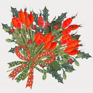 1830 Prickly Christmas bunch