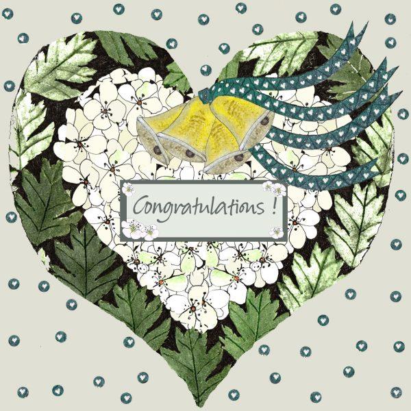 17020 Blossom Wedding Heart
