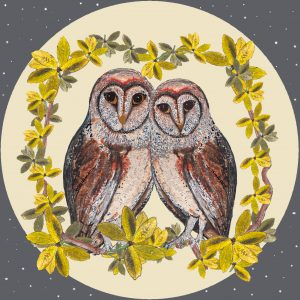 17054 Moonlit Owls
