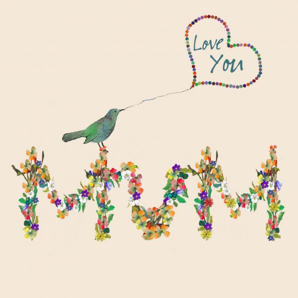 1802 Little Bird Mum Card