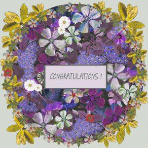 1835 Many flowers Congratulations psd