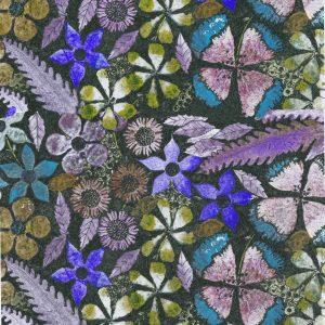 1848 Flower,Flowery Night