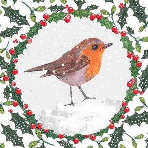 1412 Robin in the Snow