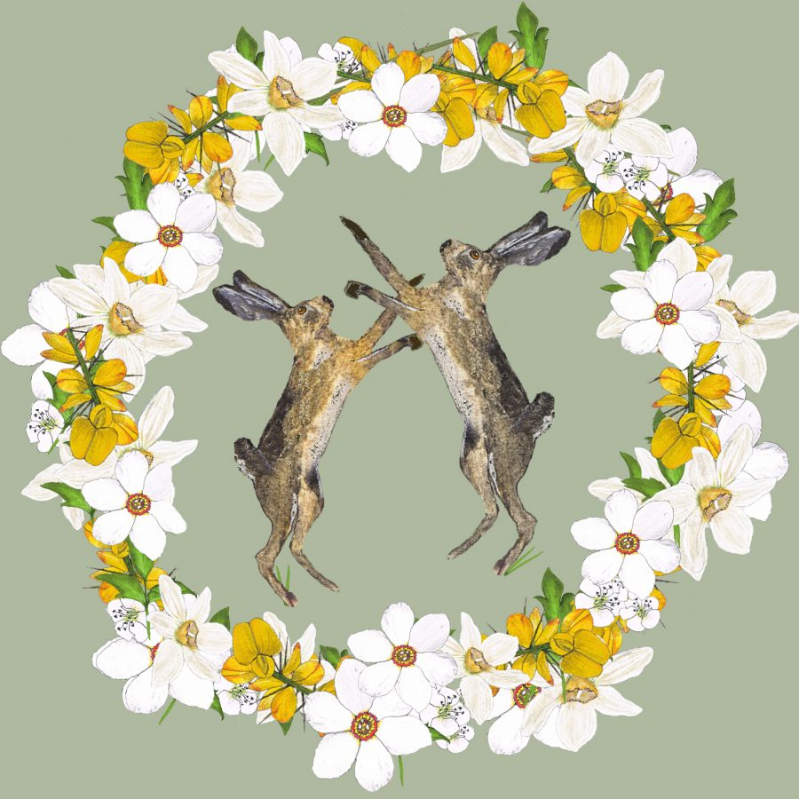 2058 Brown Hares